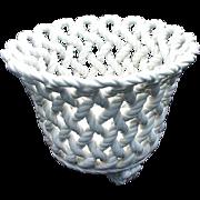 Woven Ceramic Jardiniere, Spain