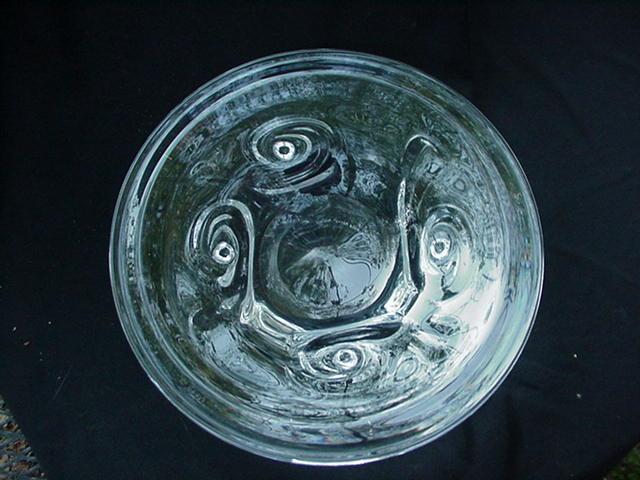 Kosta Clear Crystal Charger, Warff Design