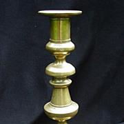 19th C. Brass Candlestick