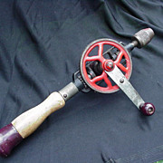 Vintage Tool, Crank Hand Drill, Egg Beater