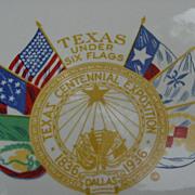 SALE PENDING Rare Souvenir Texas Centennial Exposition Plate 1836-1936