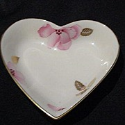 Lenox Royal Blossom Collection Heart Shaped Dish