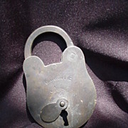 Garanite Brand Padlock, Old Metal