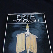 SOLD Erte Book, Photos of Many Sculptures and Artwork by the Artist
