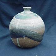 Art Pottery Vase, Artist Signed, 1967