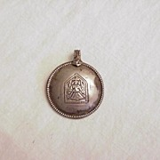Antique Indian Silver Pendent No. 1