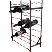 A French Metal Wine Rack by Rigidex