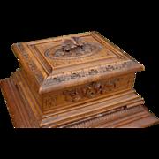 Nice Black Forest Desk or Table Cigar Casket