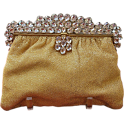 REDUCED HUGE REDUCTION - Over the Top Hand Beaded French Jeweled Purse