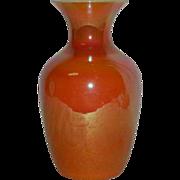 Imperial, Freehand, Lead Lustre, Art Glass Vase