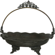 Metal, Boston Silver Plate Co., Bride's Basket Stand