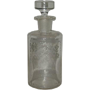1860's-70's, Queen Bess Miracle Extract, Apothecary Bottle