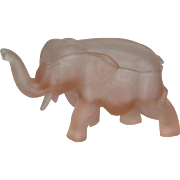 Satin Pink, Tiara, Covered Elephant