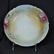Antique Limoges Bernardaud and Company B & Co. Hand Painted Bowl