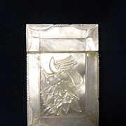 Wonderful Mother of Pearl Card Case