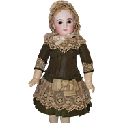 Dreamy French Cut Doll Dress and Bonnet