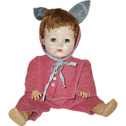 "16"" American Character Tiny Tears Doll  1956-1958"