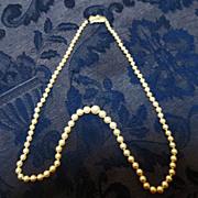 Mikimoto Pearls  in Sterling ~  circa 1970's