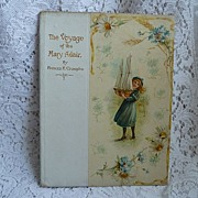"""Circa 1900 decorative book """"The Voyage of the Mary Adair"""" ~ Nister"""
