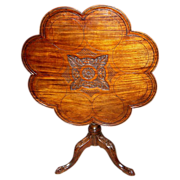 SALE 18th Century Georgian Tilt Top Tea Table
