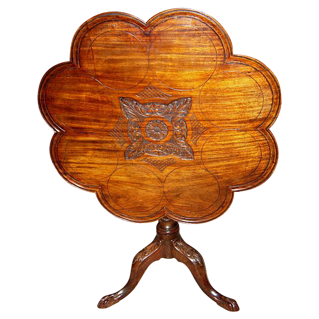 18th Century Georgian Tilt Top Tea Table