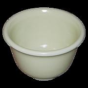 SALE Vintage Hamilton Beach Pale Yellow Custard Glass Mixer Bowl