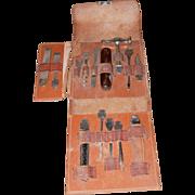 BONSA German Tool Set in Leather Case