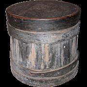 Early Covered Bucket or Firkin