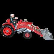 Corgi #69 Massey Ferguson 165 Tractor with Shovel