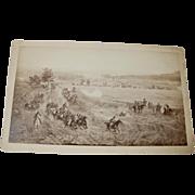 Civil War Battle Scene Picture