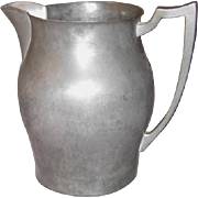 Pilgrim Pewter 2 qt. Water Pitcher