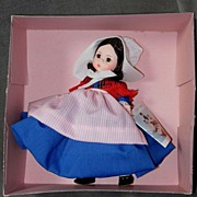 SALE Madame Alexander International Series Doll #562 Belgium