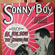 Sonny Boy – 1928