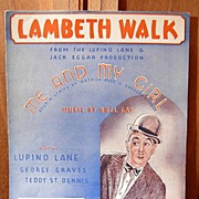 Lambeth Walk /Me and My Girl– 1937