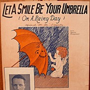 Let A Smile Be Your Umbrella – 1927