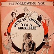 I'm Following You – 1929