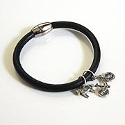 Men's Leather Bracelets-Men's Bracelet - Men's Jewelry - Men's Leather charm Bracelet - Unisex