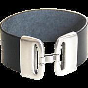 Leather Cuff Bracelet - Cuff Bracelet- Men's Cuff Bracelet - Men's Bracelet- Unisex Bracelet-