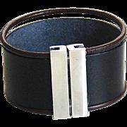 Men's Leather Cuff Bracelet - Cuff Bracelet- Men's Cuff Bracelet -Men's Bracelet- Unisex ...