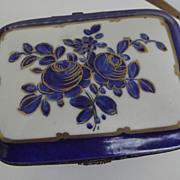 SALE PENDING French Porcelain Box