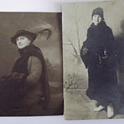 Two Ladies In Their Furs