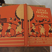 "Children's Book ""Little Friends At School"""