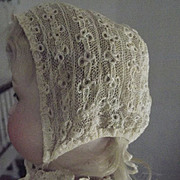 Early Lace  Doll Hat