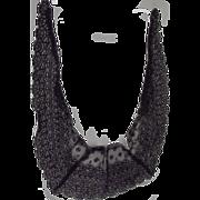 Civil War Era Black Lace Trim