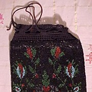 SALE PENDING Nice Old Beaded Bag