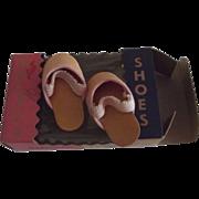 Vintage Doll Shoes Original Box
