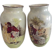 SALE PENDING Early Royal Doulton Vases