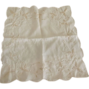Silk Wedding Handkerchief and Another