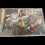 Max Kunzli Cat Postcard