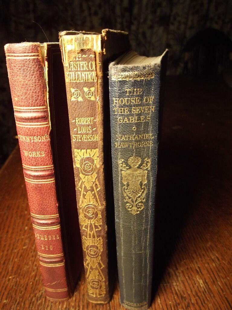 Three Small Victorian Books